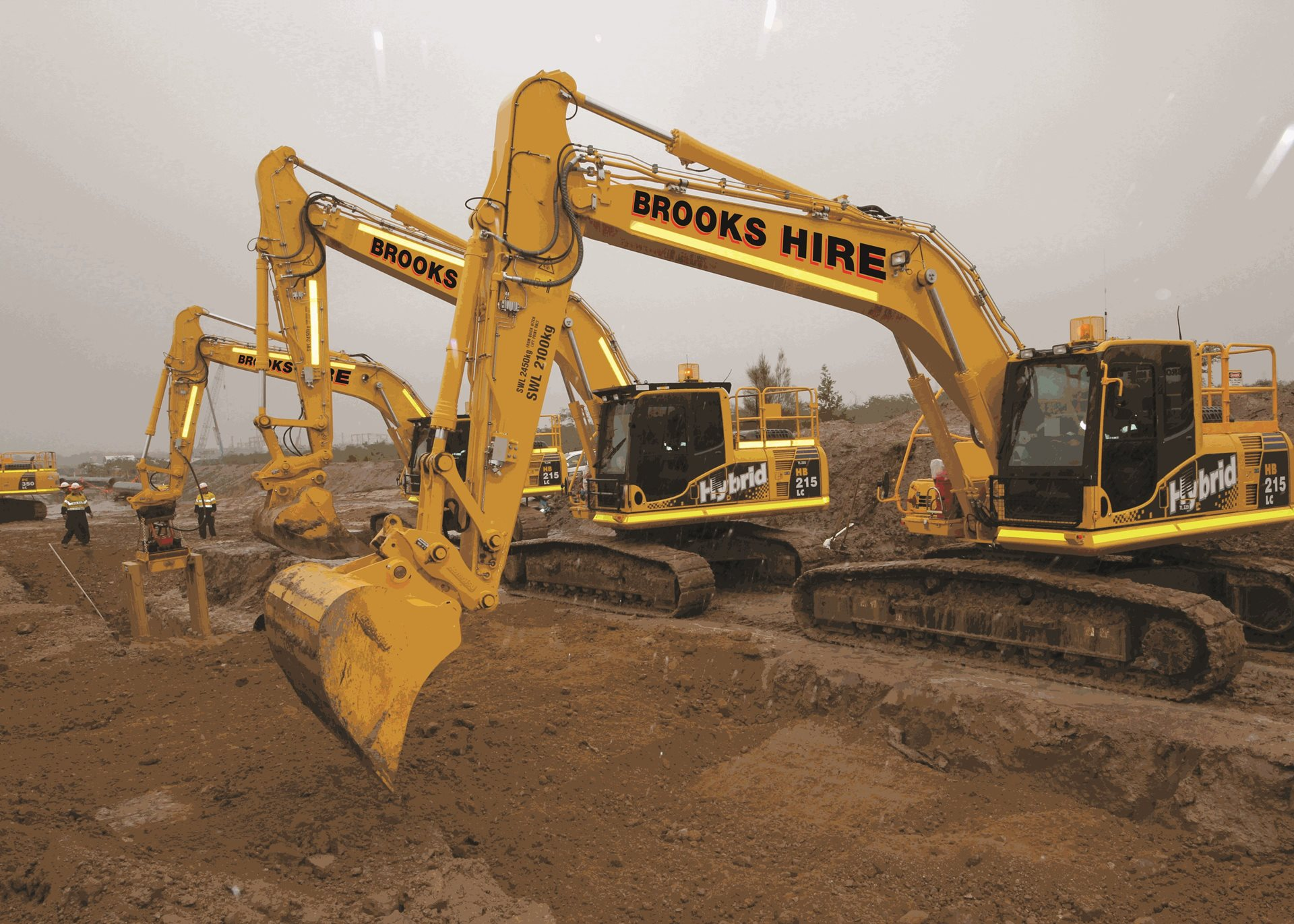 Earthmoving Machinery Equipment For Hire | Excavator Hire