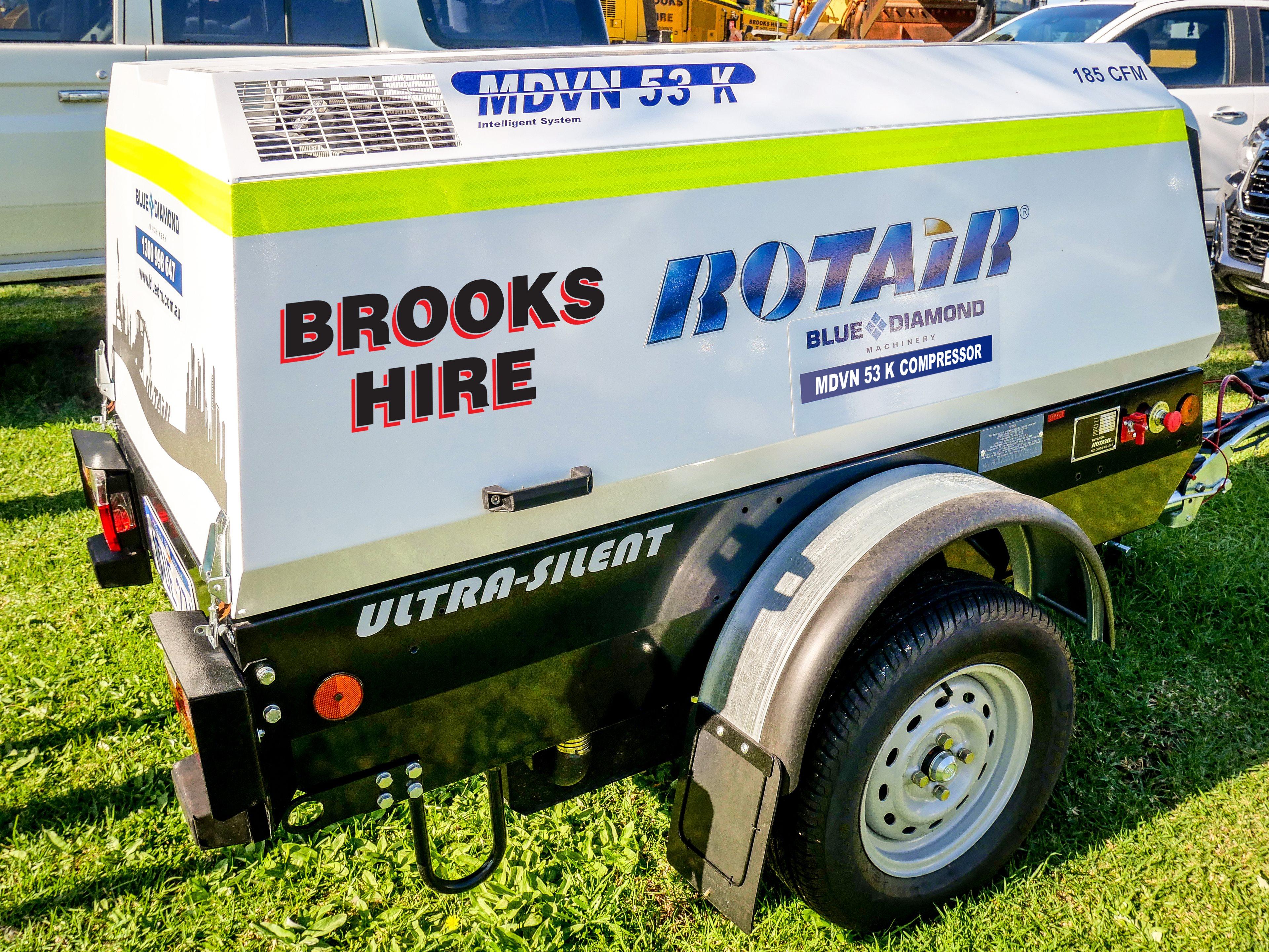 Brooks Hire Pump Generator Compressor Hire