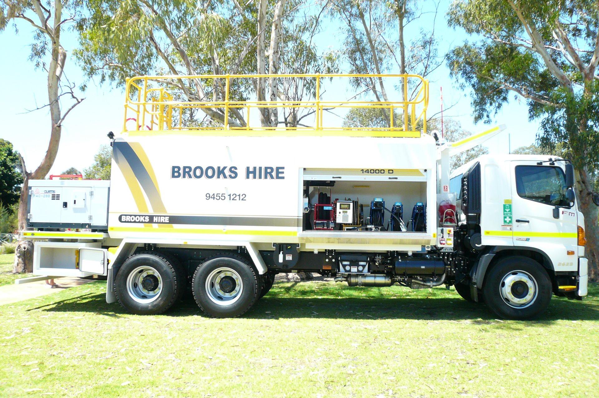 Brooks Hire Fuel Truck Trailer Hire
