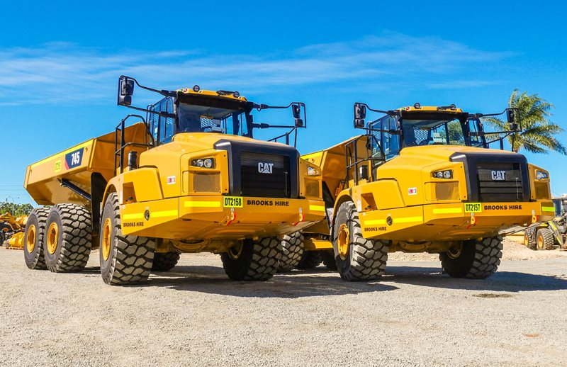 Dump Truck Fleet Keeps Growing | Brooks Hire